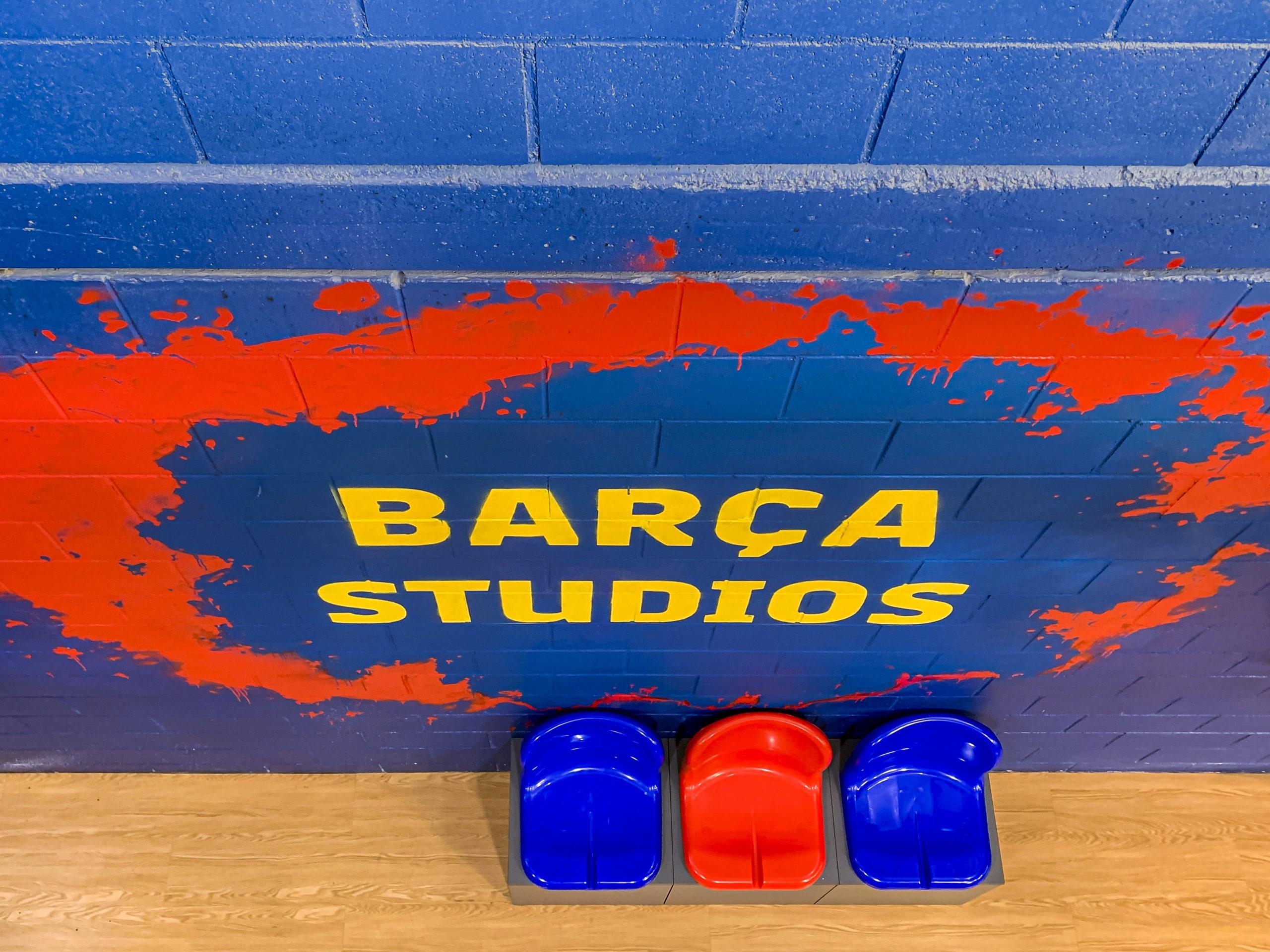 バルセロナのBarça Studios