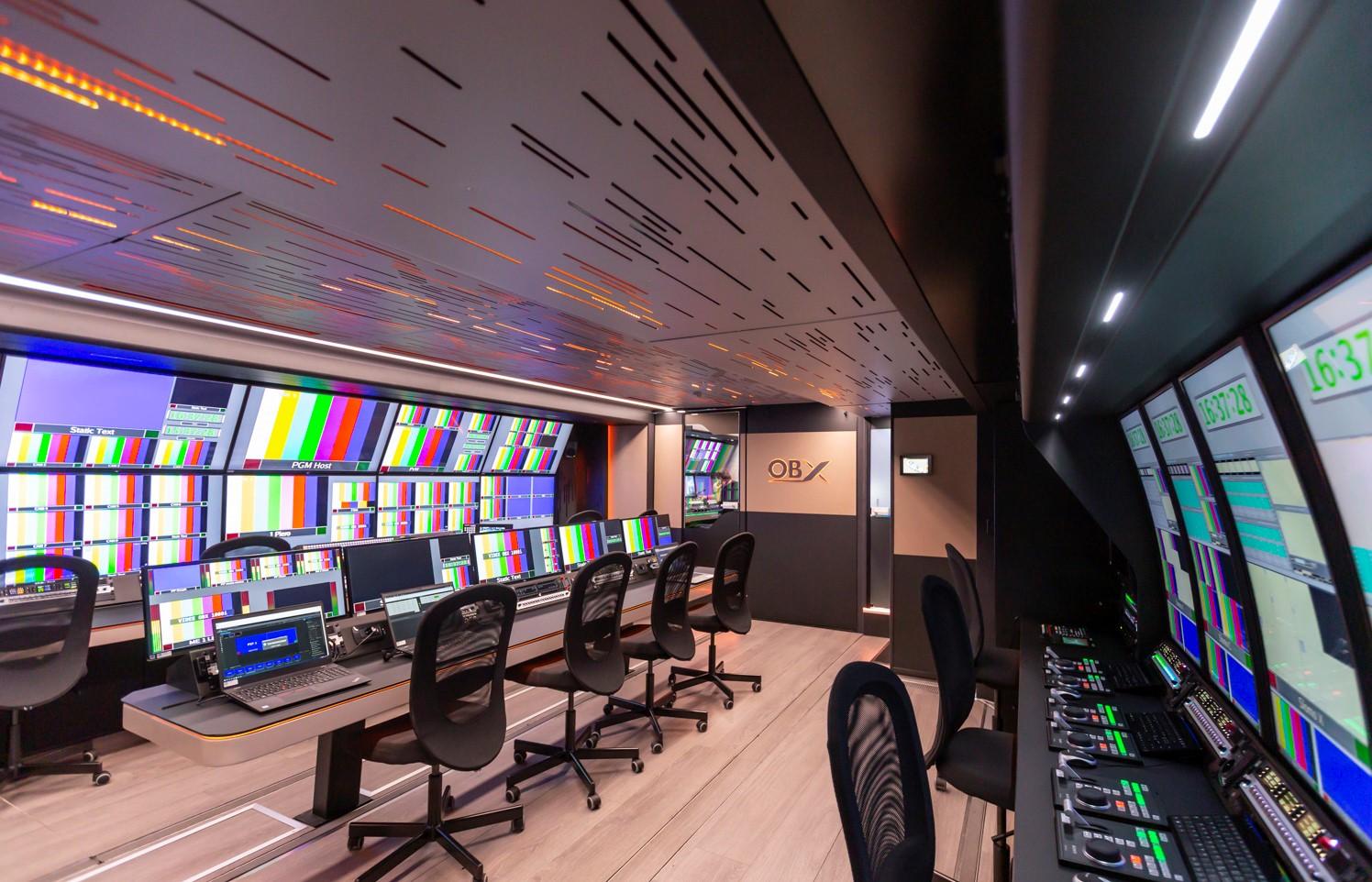 イタリア Videe SpA 新4K HDR中継車にRIEDEL ArtistとBoleroを導入